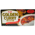 Hot Golden Curry (Hot Japanese Curry Sauce) - 240g